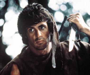 Sylvester Stallone wystawi na aukcji nóż, którego używał jako Rambo
