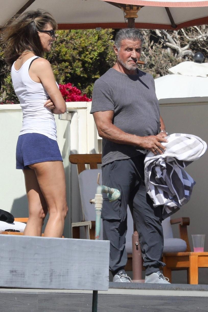 Sylvester Stallone znacznie przytył /BACKGRID /East News