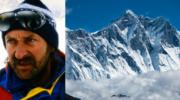 Sylwester Krzysztofa Wielickiego na szczycie Lhotse