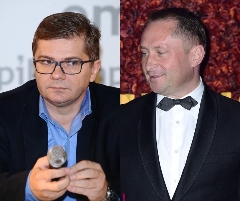 Sylwester Latkowski i Kamil Durczok /- /MWMedia