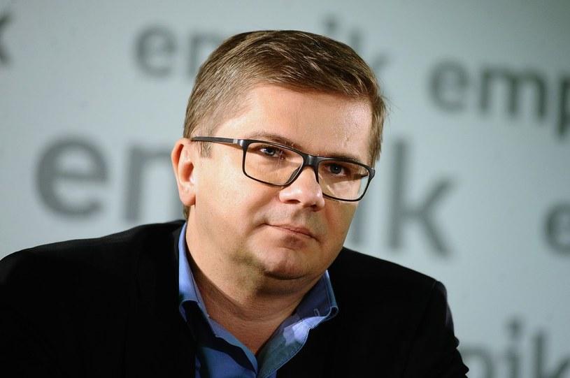 """Sylwester Latkowski nie jest juz naczelnym tygodnika """"Wprost"""" /VIPHOTO /East News"""