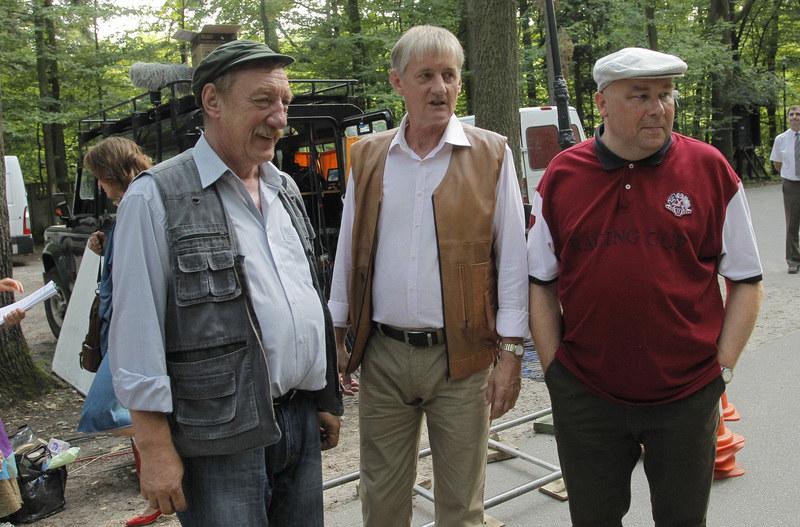 Sylwester Maciejewski, Grzegorz Wons, Bogdan Kalus /Engelbrecht /AKPA