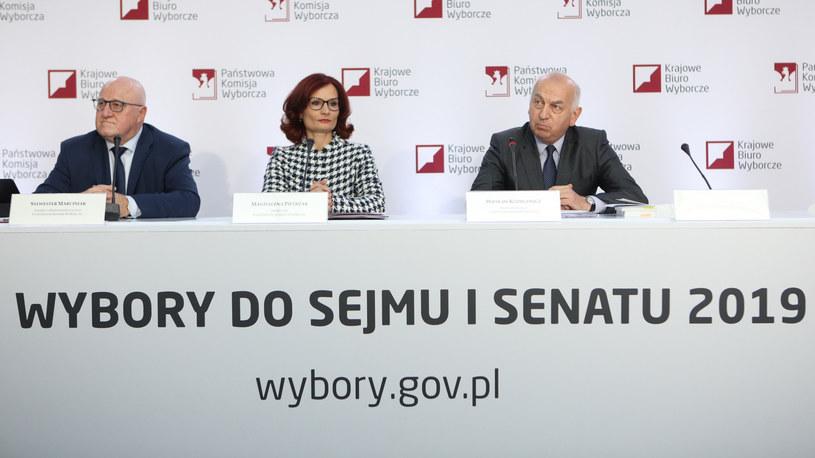 Sylwester Marciniak, Magdalena Pietrzak, Wiesław Kozielewicz /Fot Tomasz Jastrzebowski /Reporter