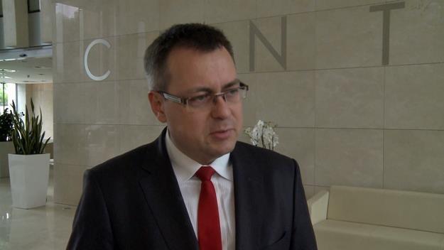 Sylwester Salach, prezes DCB SA /Newseria Biznes