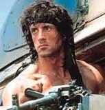 Sylwester Stallone jako John Rambo /
