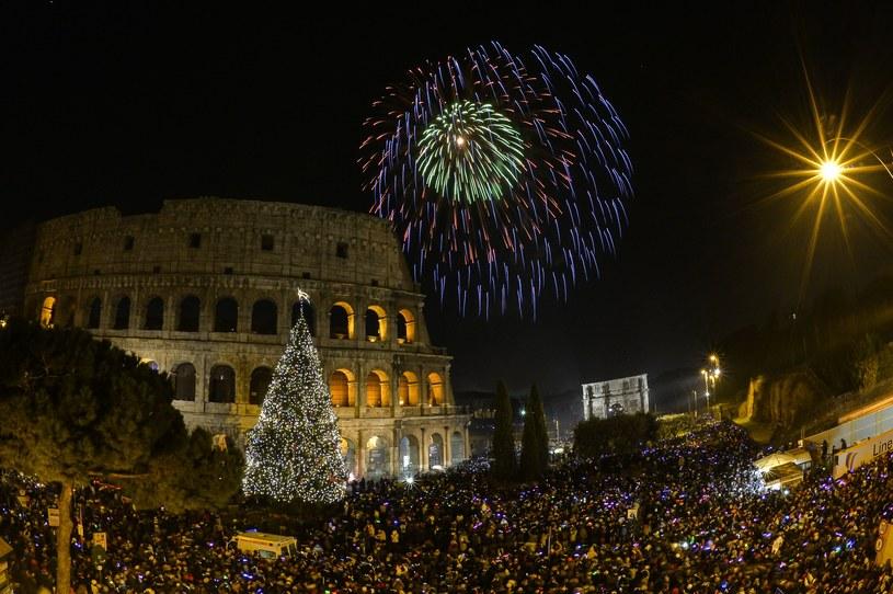 Sylwester w Rzymie /AFP