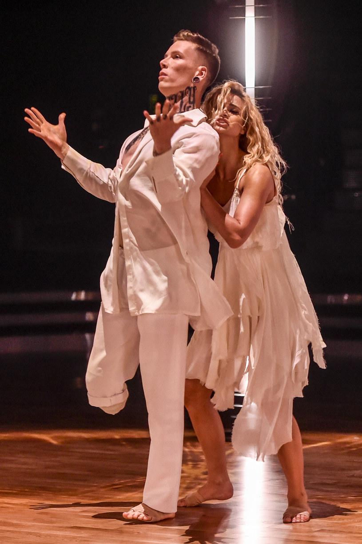 """Sylwester Wilk i Hanna Żudziewicz w programie """"Dancing with the Stars. Taniec z Gwiazdami"""" / Jacek Kurnikowski /AKPA"""