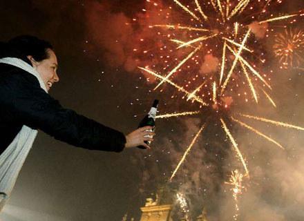 Sylwestrowa noc jest tylko raz w roku - fot. Robert Szwedowski /Agencja SE/East News