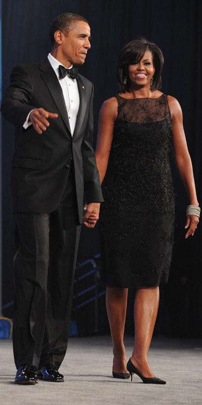 Sylwetka Michelle  /AFP