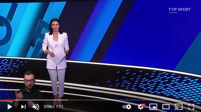 Sylwia Dekiert jest dziennikarką TVP /YouTube /