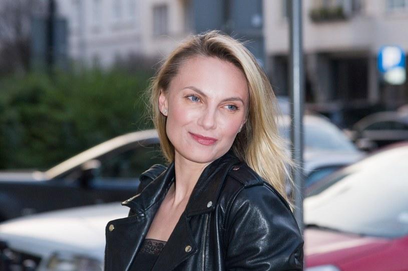 Sylwia Gliwa jest piękną aktorką /Artur Zawadzki /Reporter