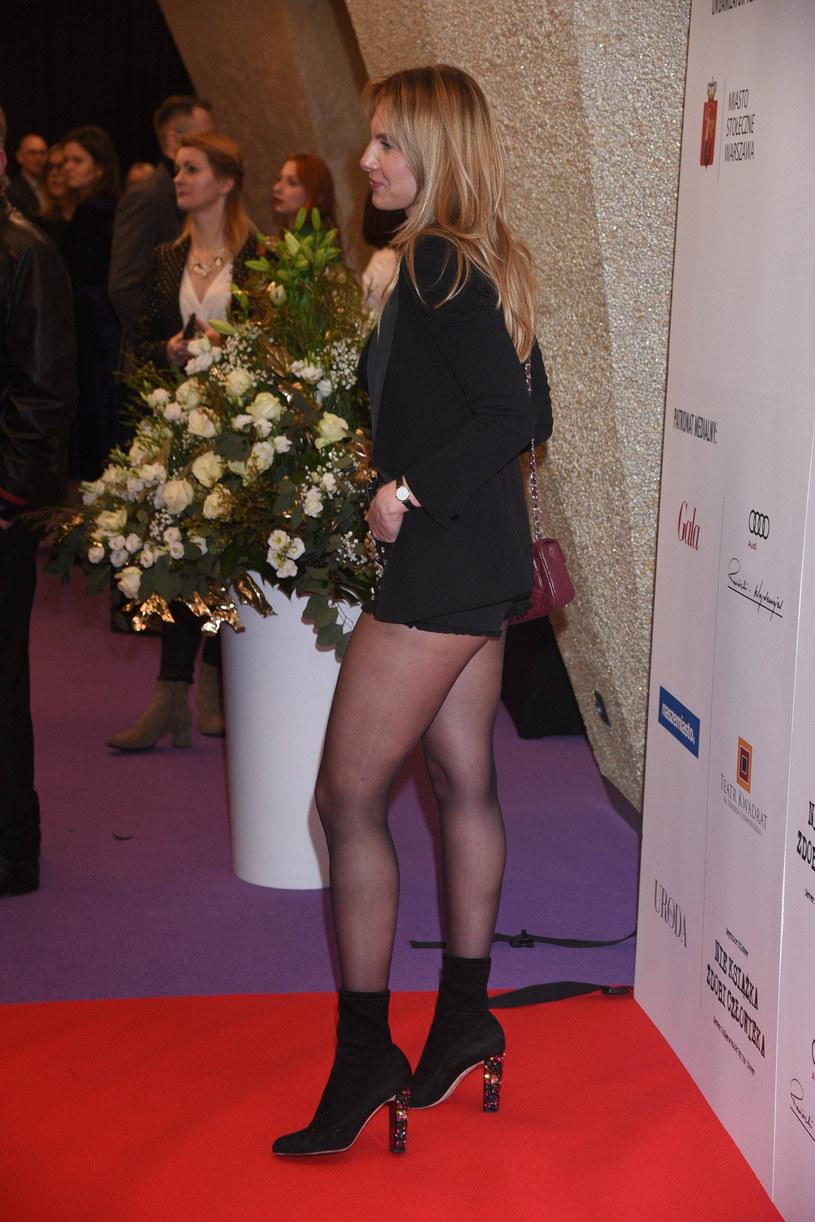 Sylwia Gliwa podkreśliła nogi, ale czy wyglądała dobrze? /Tricolors /East News