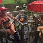 Sylwia Gliwa w skąpym bikini i pod parasolem. Tak wyglądały jej wakacje!