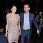 Sylwia Gliwa z mężem