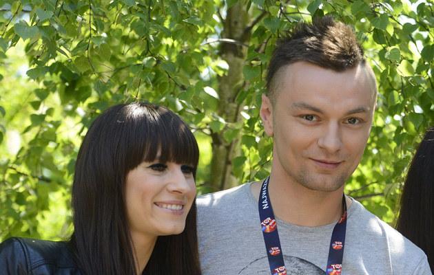 Sylwia Grzeszczak i Liber pobrali się 28 lipca /Jarosław Antoniak /MWMedia