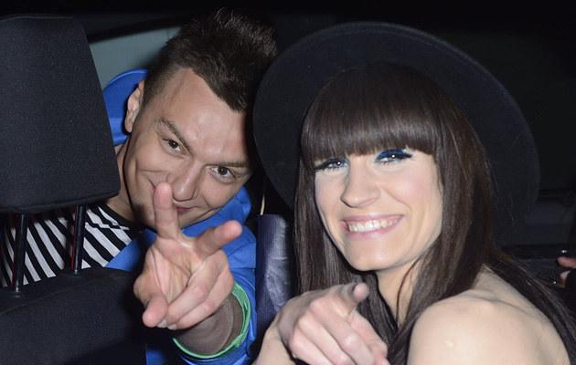 Sylwia Grzeszczak i Liber /Jarosław Antoniak /MWMedia