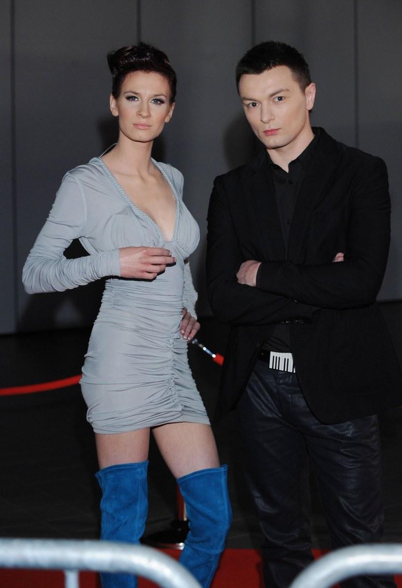 Sylwia Grzeszczak i Liber /Piotr Fotek /Reporter