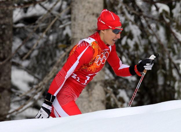 Sylwia Jaśkowiec w biegu półfinałowym /Grzegorz Momot /PAP