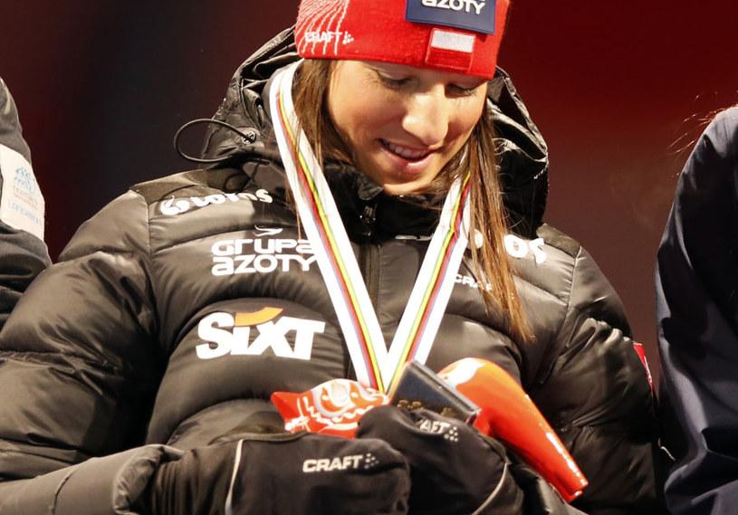 Sylwia Jaśkowiec w Falun wywalczyła brąz /Grzegorz Momot /PAP