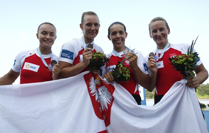 Sylwia Lewandowska, Joanna Leszczyńska, Magdalena Fularczyk-Kozłowska i Natalia Madaj /PAP/EPA