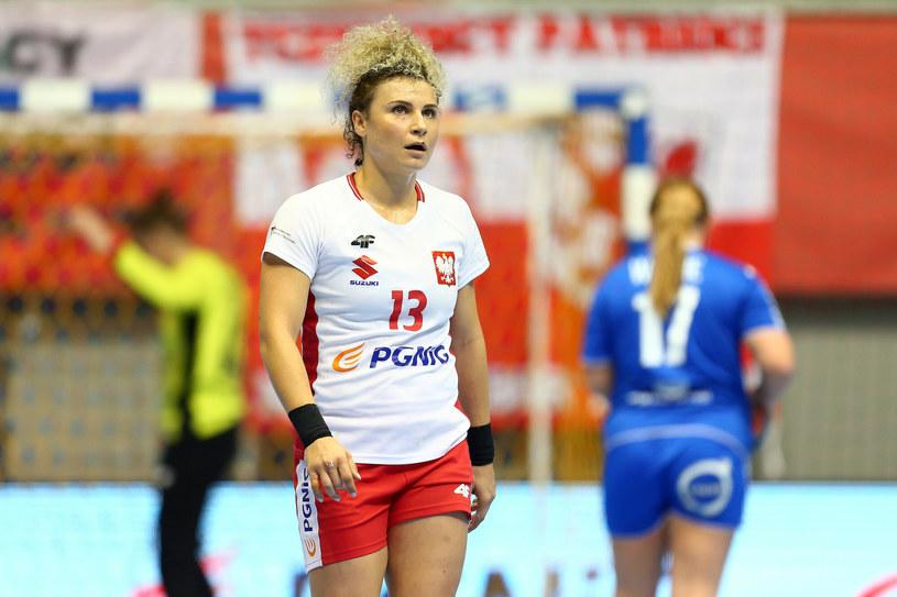 Sylwia Matuszczyk nie zagra w meczu eliminacji Euro 2022 ze Szwajcarią /Piotr Matusewicz /East News