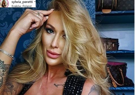 """Sylwia Peretti bierze udział w programie """"Królowe życia"""" /Instagram"""
