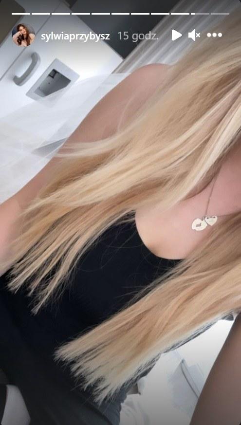Sylwia Przybysz mocno rozjaśniła włosy! fot. https://www.instagram.com/sylwiaprzybysz/ /Instagram /Instagram