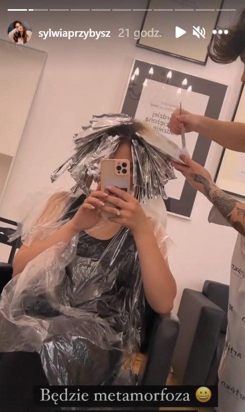Sylwia Przybysz postanowiła zmienić coś w swoim wyglądzie fot. https://www.instagram.com/sylwiaprzybysz/ /Instagram /Instagram