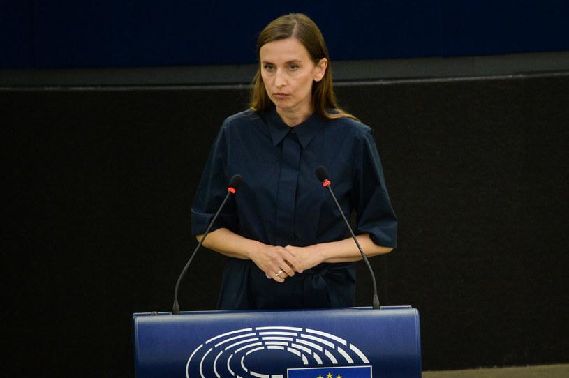Sylwia Spurek na posiedzeniu Parlamentu Europejskiego /Aleksiej Witwicki /Agencja FORUM