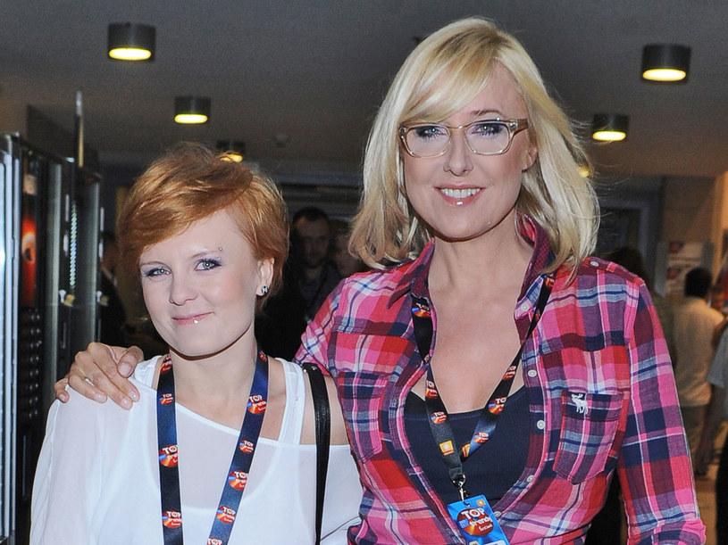 Sylwia stała się podporą, kiedy prezenterka przeżywała trudne chwile /A. Szilagyi /MWMedia