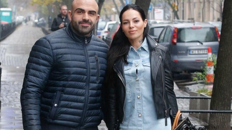 Sylwia Szostak z mężem od lat działają w branży fitnesss /AKPA