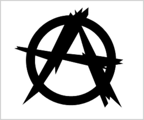Symbol anarchii /INTERIA.PL