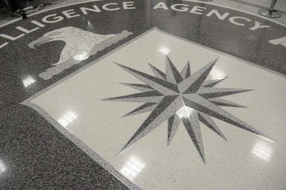 Symbol CIA w kwaterze głównej Agencji w Langley /Olivier Douliery / POOL /PAP/EPA
