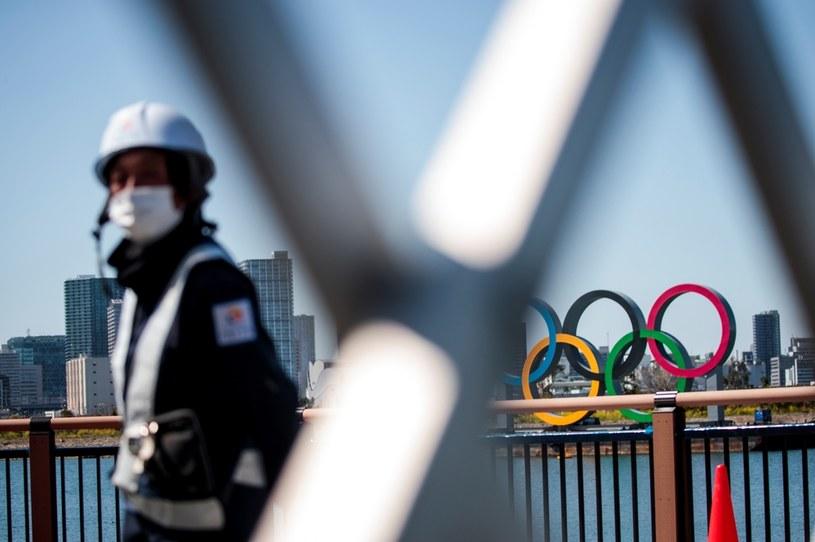 Symbol olimpijski w Tokio /BEHROUZ MEHRI /AFP