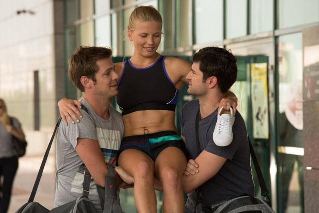 Sympatyczna i pełna wdzięku, Aneta będzie trenować sztuki walki - razem z Adamem i Szczepanem. /Agencja W. Impact