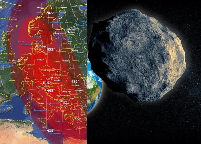 Symulacja NASA nie zakończyła się korzystnie dla naszej części Europy /123RF/PICSEL