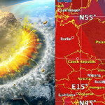 Symulacja NASA: W Ziemię uderzy planetoida  - Polska w polu rażenia