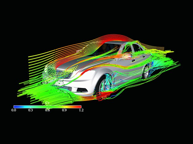 Symulacje komputerowe bardzo obniżają koszty badań. Dopiero potem przychodzi czas na próby w tunelach aerodynamicznych. /Motor