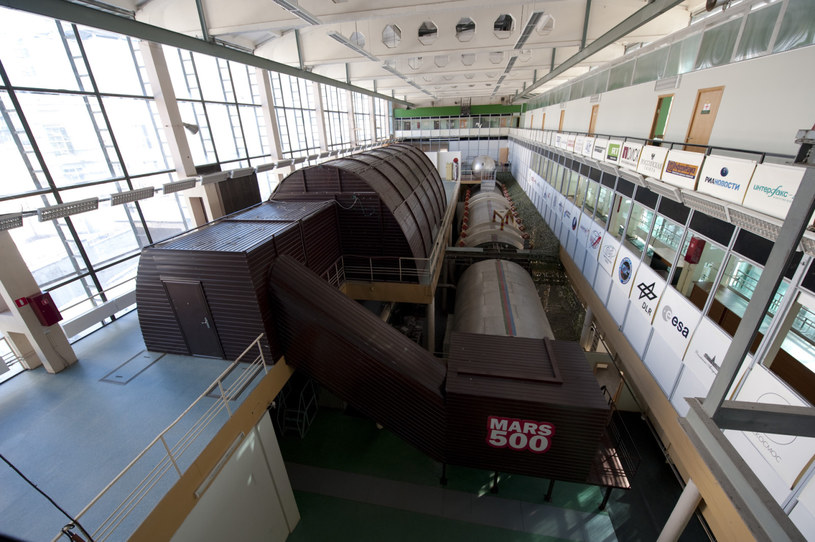 Symulator eksperymentu Mars 500 w Instytucie Problemów Biomedycznych w Rosji /materiały prasowe