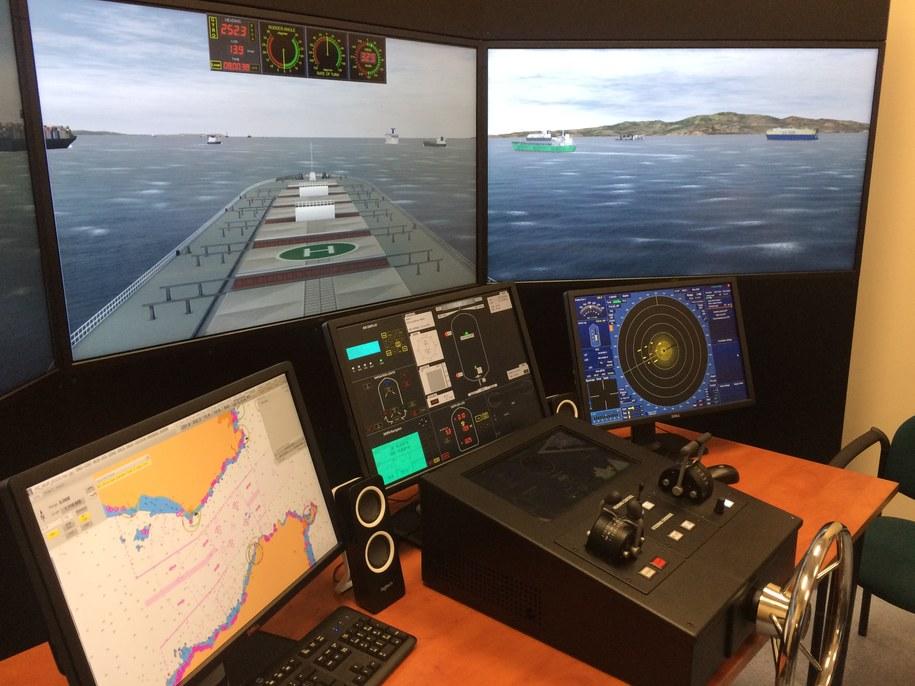 Symulator statku /Aneta Łuczkowska /RMF FM