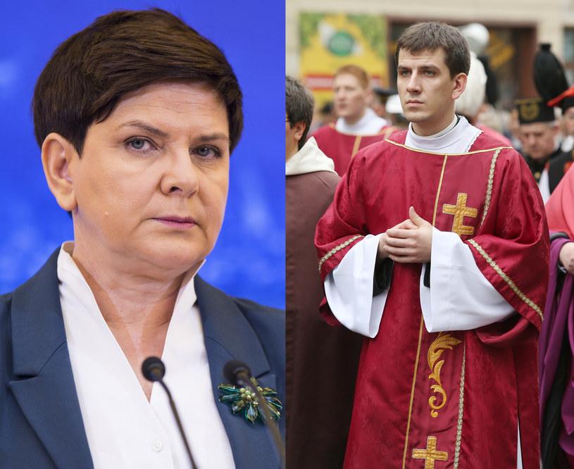 Syn Beaty Szydło przyjął święcenia kapłańskie /Andrzej Hulimka/Reporter /East News