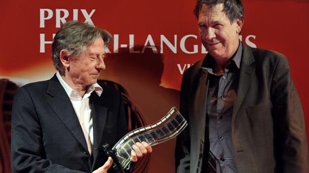 Syn Henriego Langloisa - Jean-Louis - wręczył Romanowi Polańskiemu Prix Langlois /AFP