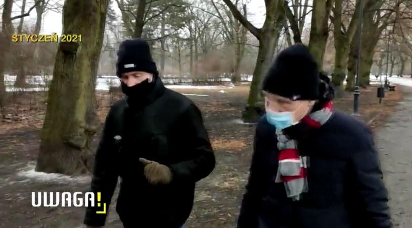 Syn Krzysztofa Krawczyka w rozmowie z dziennikarzem /player.pl /TVN