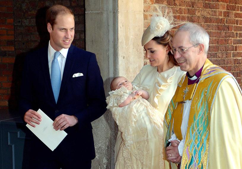 Syn księcia Williama i księżnej Kate został ochrzczony. /AFP