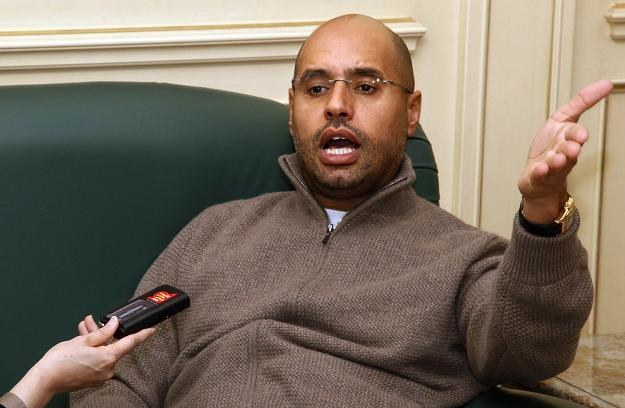 Syn Muammara Kadafiego Saif al-Islam /AFP