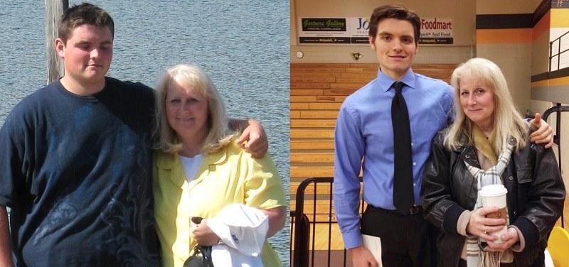 Syn razem z matką - walczyli wspólnie przez 4 lata /SenatorJ0eBiden /imgur.com