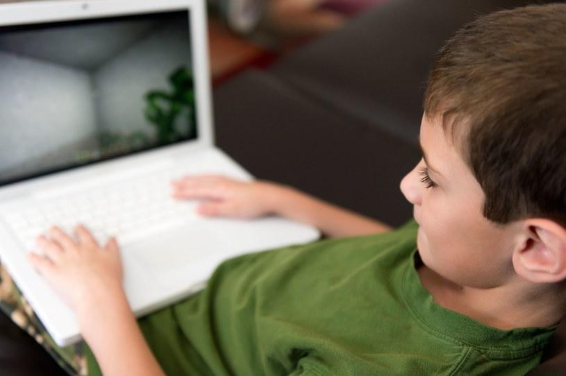 """Syn uwielbia grać w """"strzelanki"""" /123RF/PICSEL"""