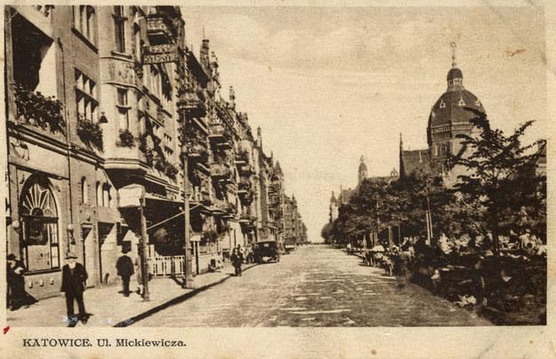 Synagoga Wielka w Katowicach. Zdjęcie z 1916 roku /Reprodukcja z archiwum FORUM /Agencja FORUM