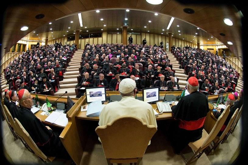 Synod biskupów /AFP