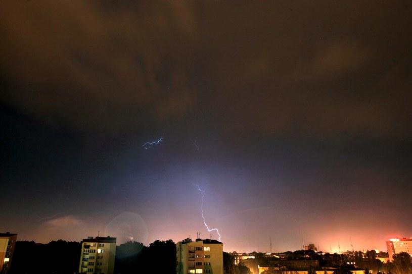 Synoptycy ostrzegają przed burzami /Jakub Orzechowski  /Reporter